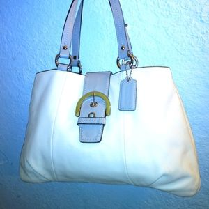 Coach  Soho Leather East West Tote